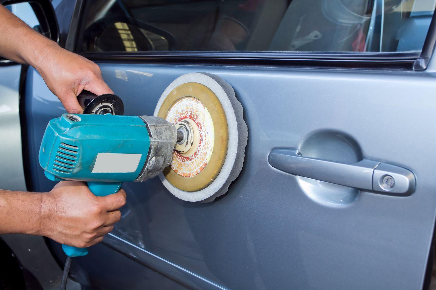 Как полировать автомобиль после покраски своими руками